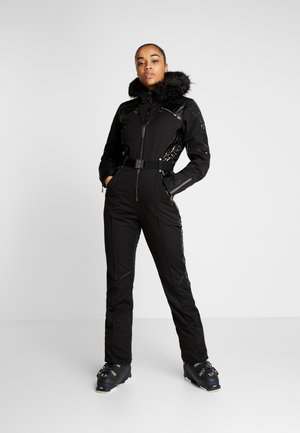 MAXIMUM SKI SUIT - Ski- & snowboardbukser - black