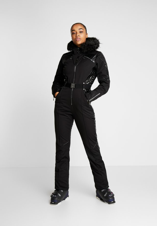 MAXIMUM SKI SUIT - Talvihousut - black