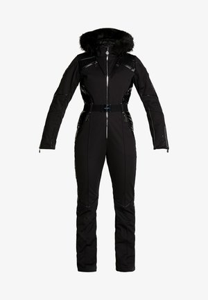 MAXIMUM SKI SUIT - Täckbyxor - black