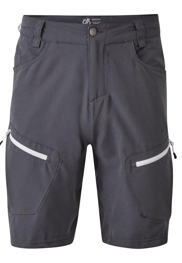 TUNED IN  - Outdoor shorts - ebony grey