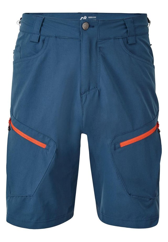 TUNED IN - Outdoor shorts - majolicablue