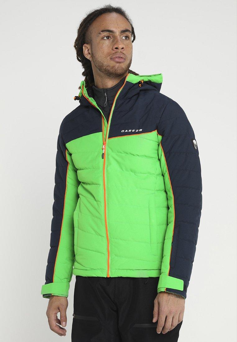 Dare 2B - SLALOM JACKET - Ski jacket - fairway green/outerspace blue