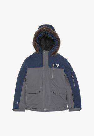 FURTIVE JACKET - Lyžařská bunda - grey/dark blue