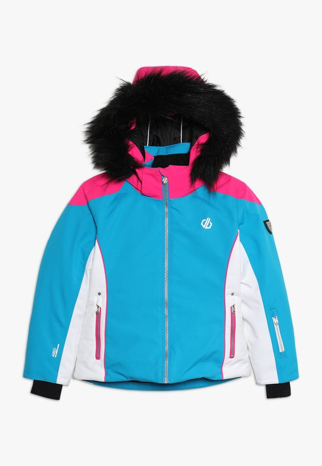 VAST JACKET - Skijacke - atlantic/cyber pink