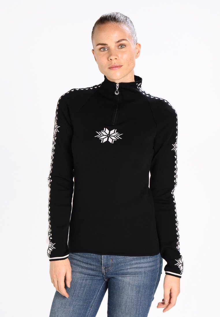 Dale of Norway - GEILO - Pullover - black/off white