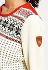 Dale of Norway - GARMISCH - Pullover - off white/navy/raspberry