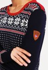 Dale of Norway - GARMISCH - Pullover - navy/off white/raspberry