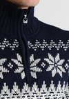 Dale of Norway - MYKING  - Pullover - navy/off white/light charcoal
