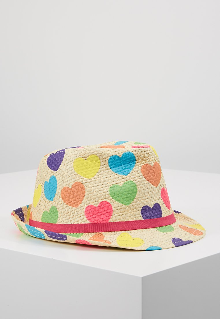 Döll - TEENS HERZEN - Hat - yellow/multi-coloured