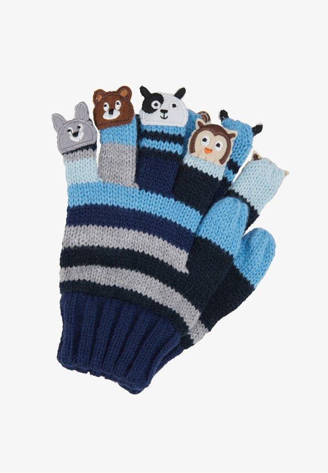 Rękawiczki pięciopalcowe - blau
