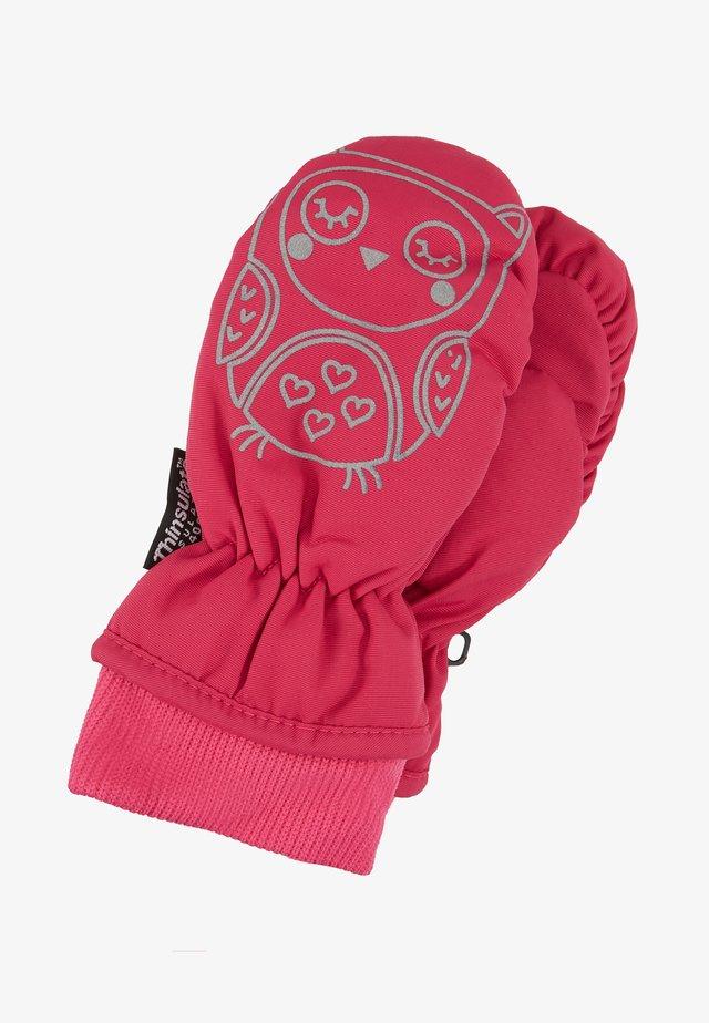 Rękawiczki z jednym palcem - pink