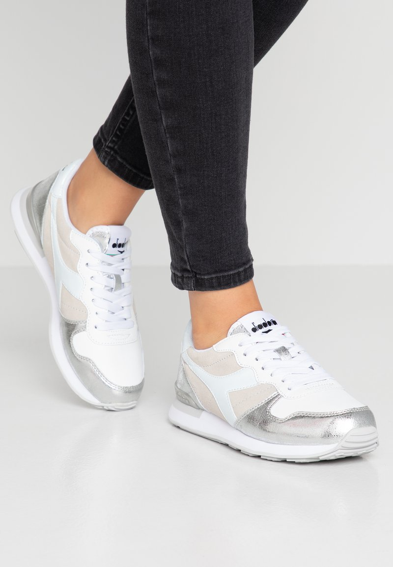 Diadora - BLING - Sneaker low - white/silver