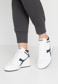 Diadora - GAME  - Sneakers hoog - white/blue denim - 0