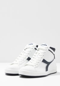 Diadora - GAME  - Sneakers hoog - white/blue denim - 4