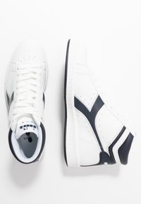 Diadora - GAME  - Sneakers hoog - white/blue denim - 3