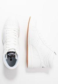 Diadora - GAME  - Sneakers hoog - white - 3