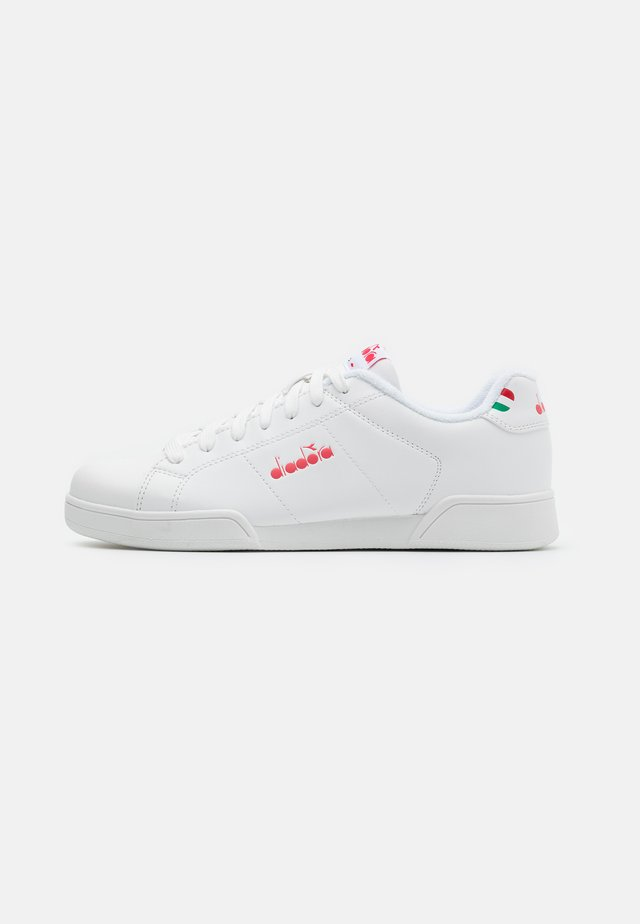 IMPULSE  - Sneaker low - white/geranium