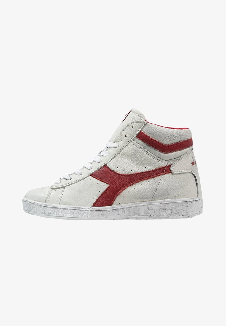 Diadora - GAME - Sneaker high - white/red pepper