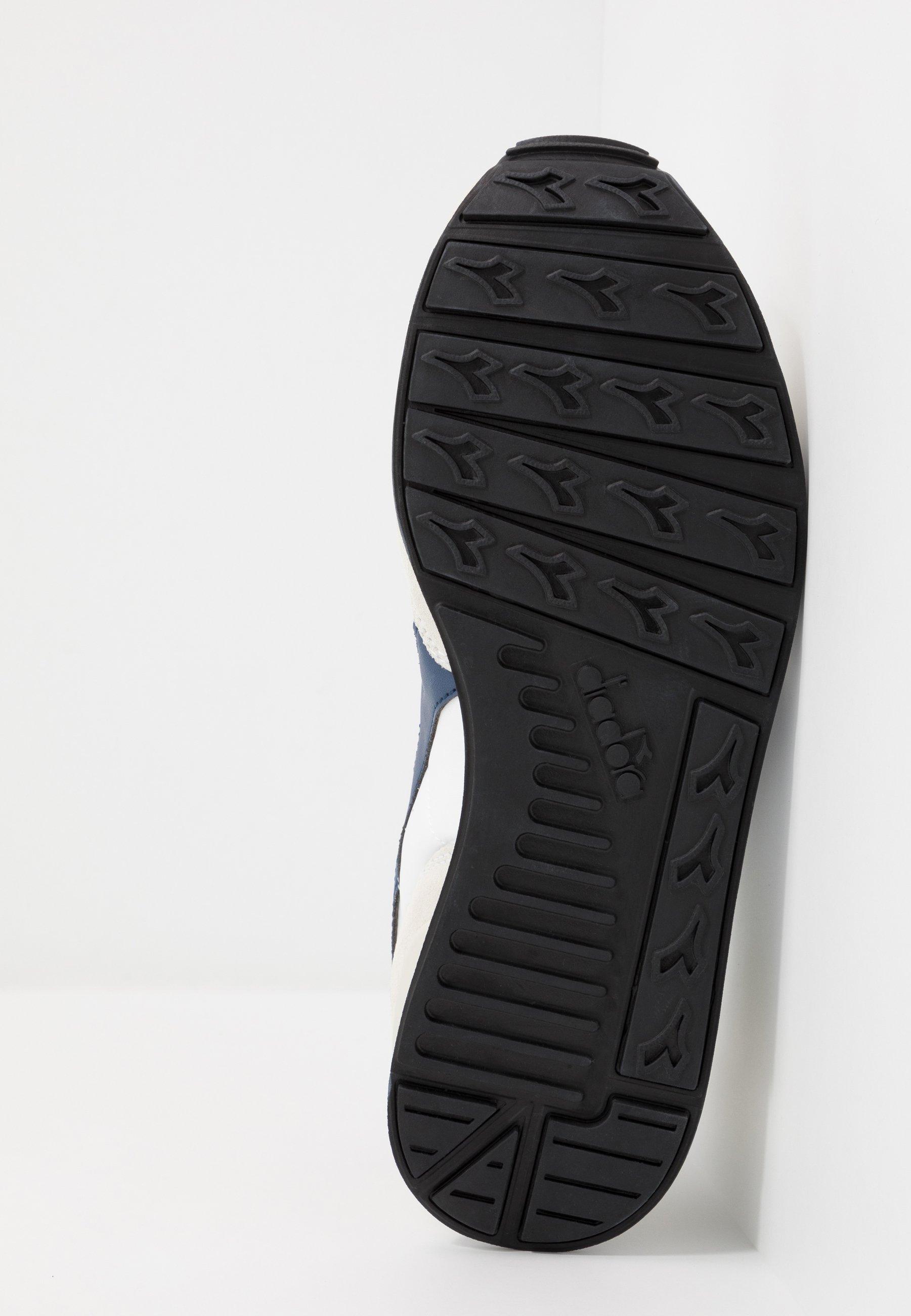 Diadora Sneakersy niskie - white/blue estate