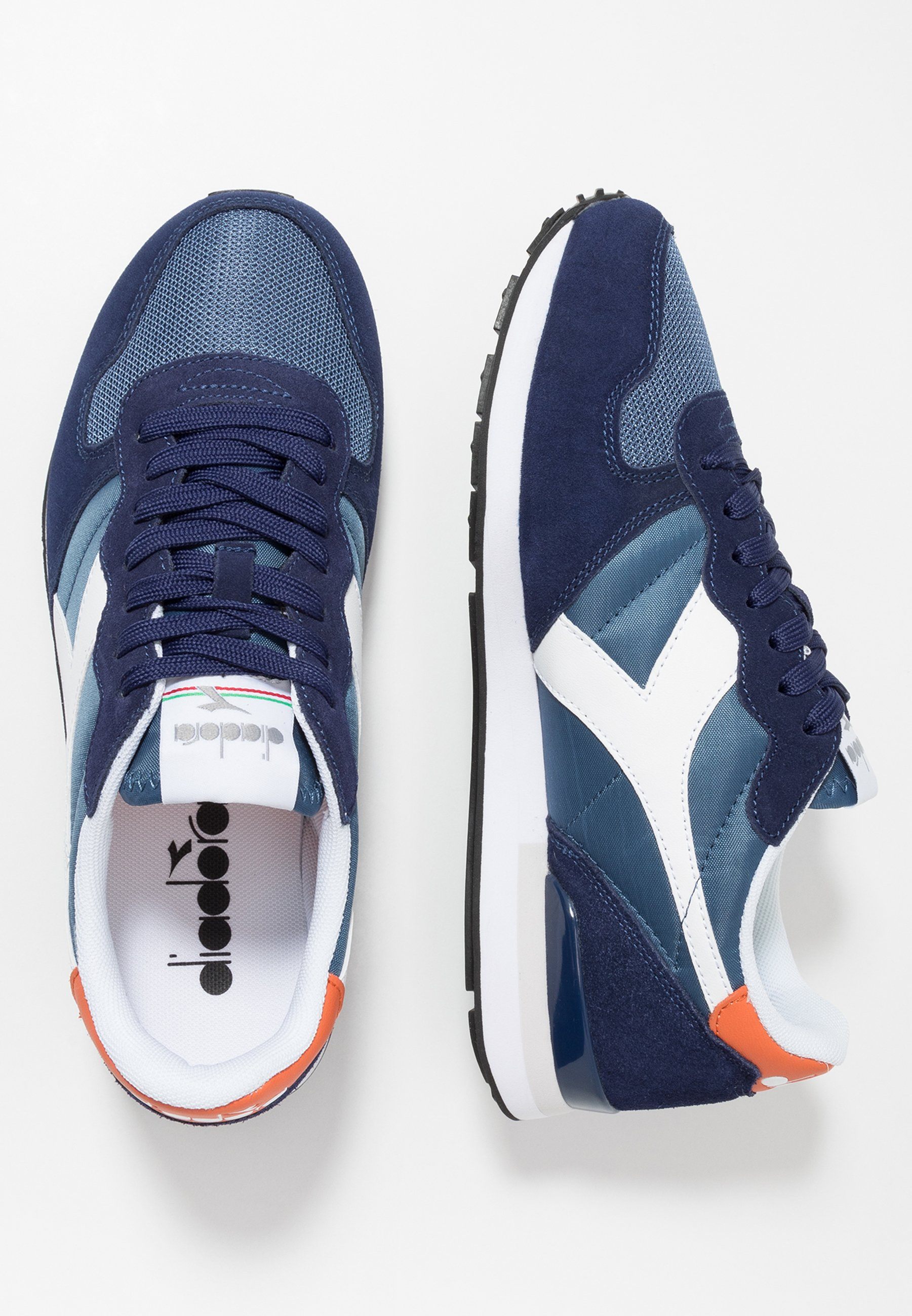 Diadora Baskets Basses - Medieval Blue/ensign Blue