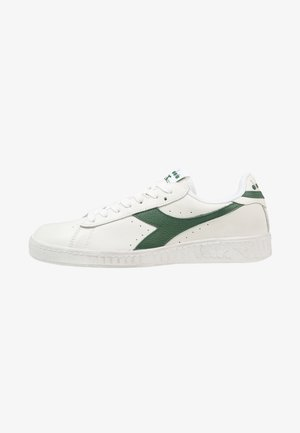 GAME WAXED - Sneakers laag - white/fogliage