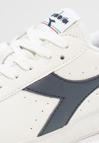 Diadora - GAME WAXED - Sneakers laag - white/blue caspian sea