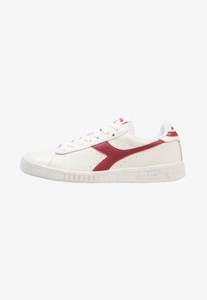 GAME WAXED - Sneakers - white/red pepper