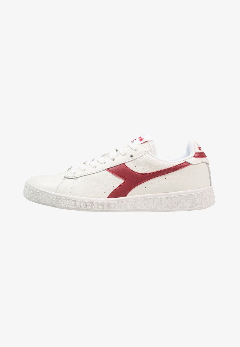 Diadora - GAME WAXED - Sneaker low - white/red pepper