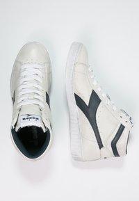 Diadora - GAME WAXED - Sneakers hoog - white/blue caspian sea - 1