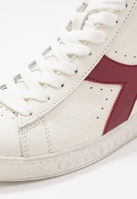 Diadora - GAME WAXED - Sneakers hoog - white/red pepper - 5