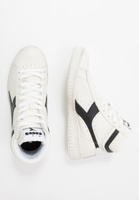 Diadora - GAME WAXED - High-top trainers - white/black - 1