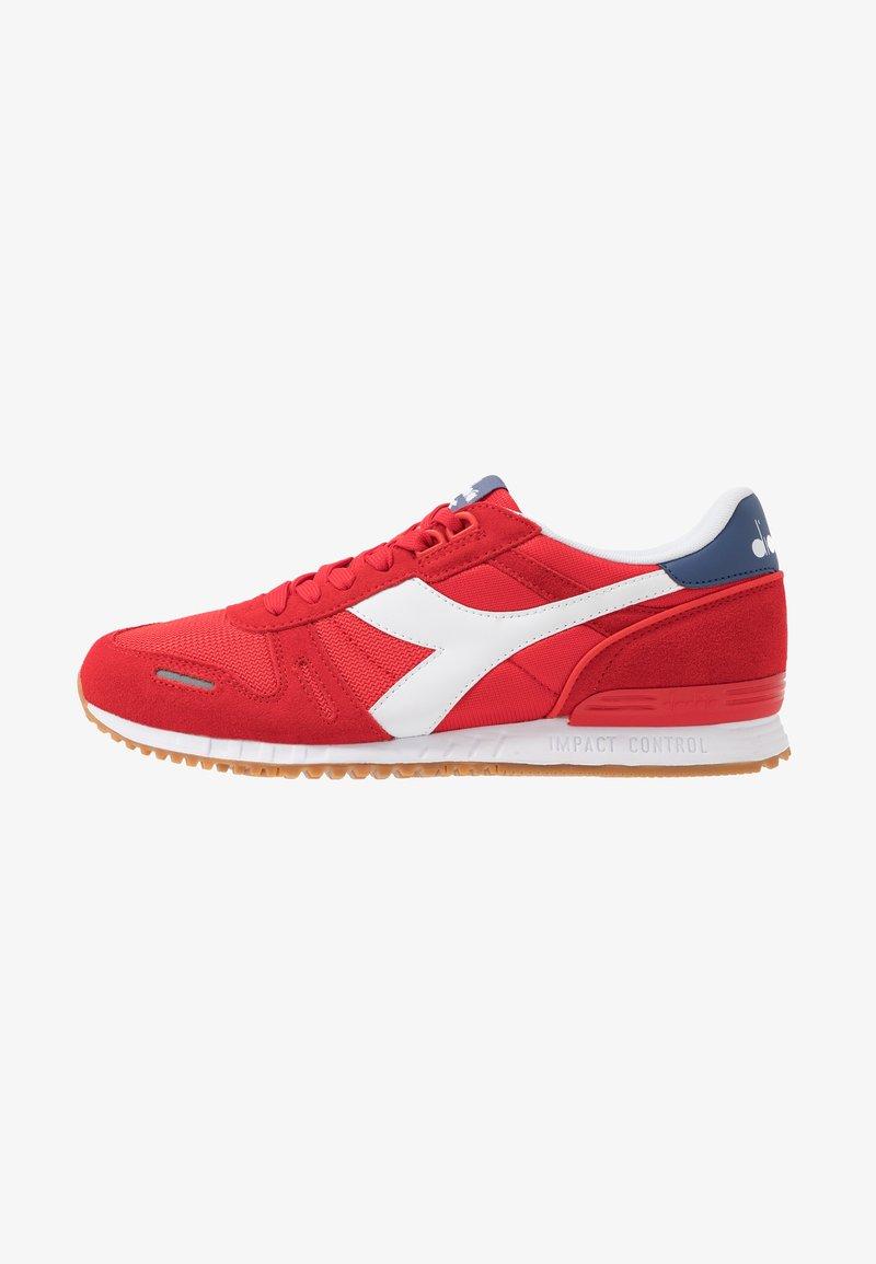 Diadora - TITAN II - Trainers - poppy red/true navy