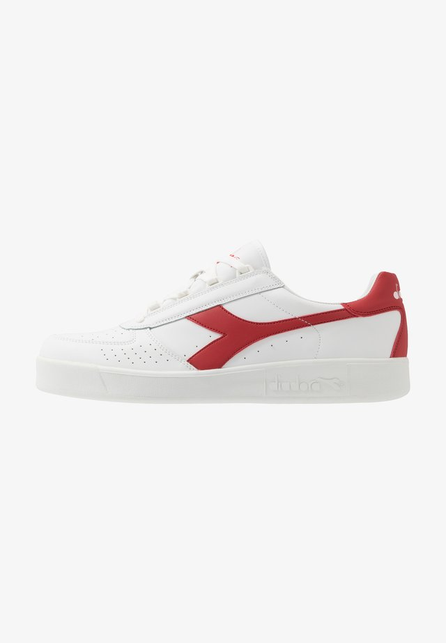 B.ELITE - Joggesko - white/ferrari red