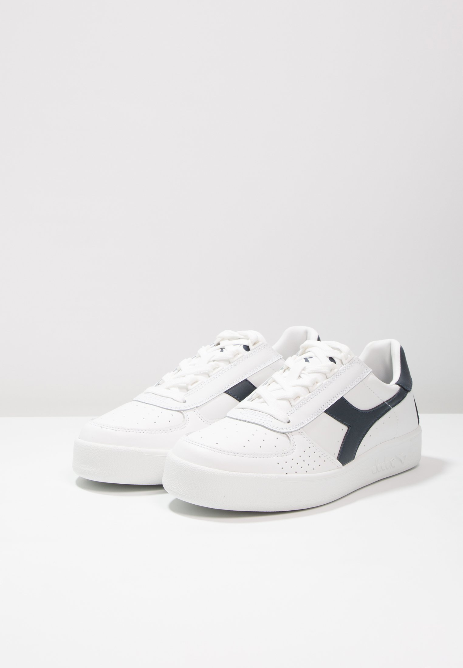 Diadora B.elite - Sneakers Laag White/blue Denim
