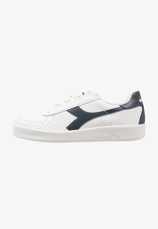 B.ELITE - Matalavartiset tennarit - white/blue denim