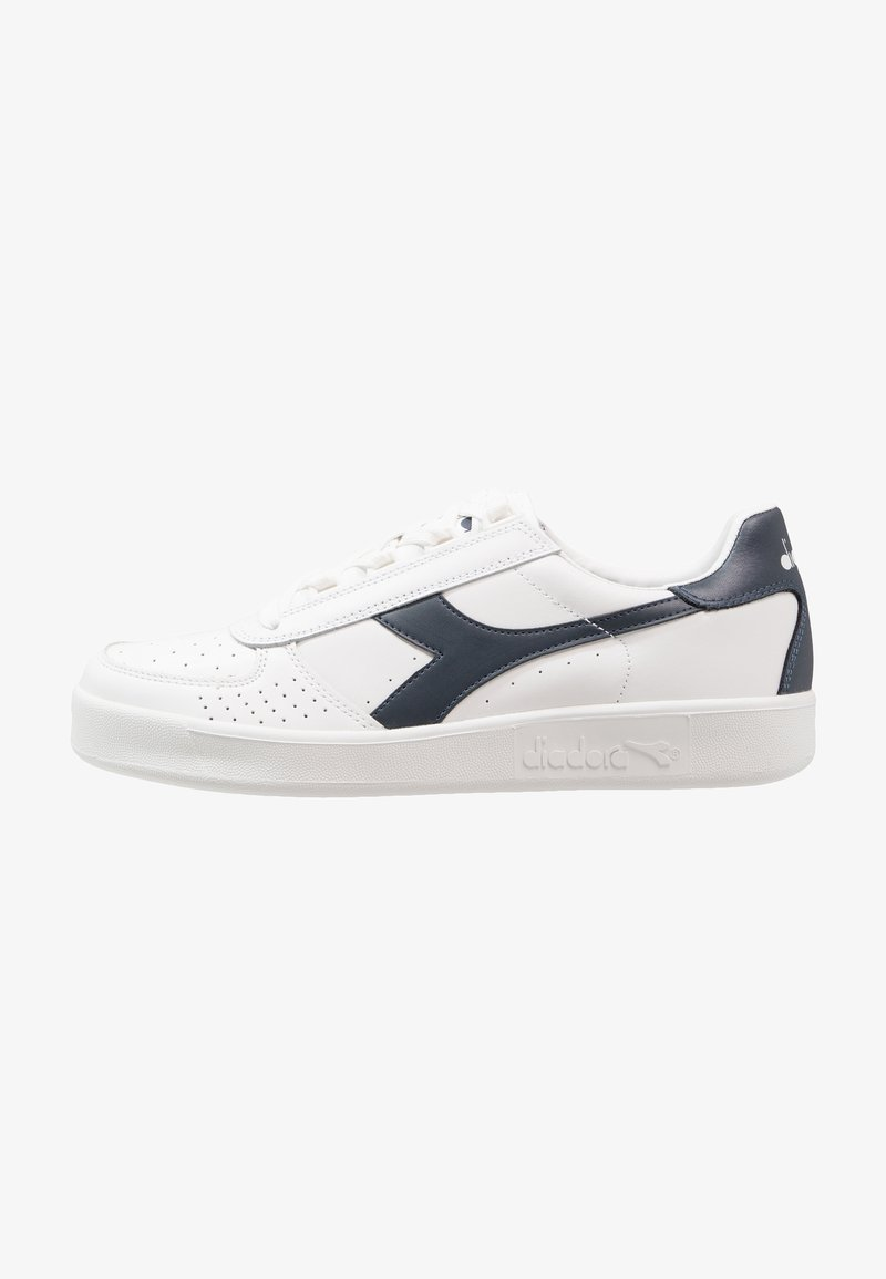 Diadora - B.ELITE - Baskets basses - white/blue denim
