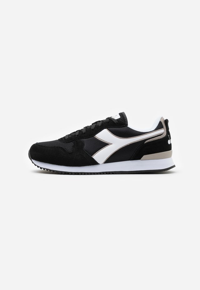 OLYMPIA - Sneakersy niskie - black/white