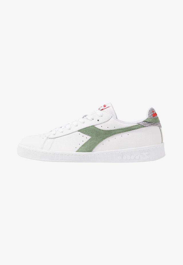 GAME OPTICAL SUMMER - Matalavartiset tennarit - bright white/hedge green/dark denim