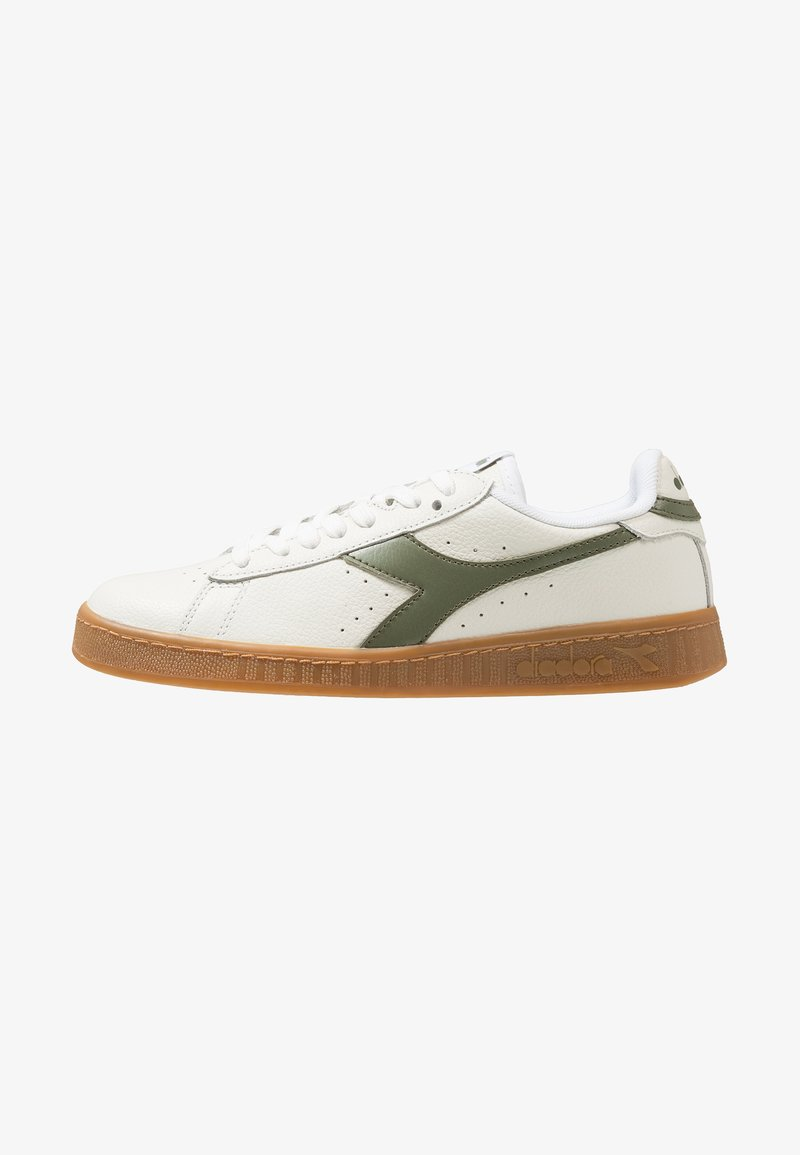 Diadora - GAME L LOW - Sneakers laag - white/olivine