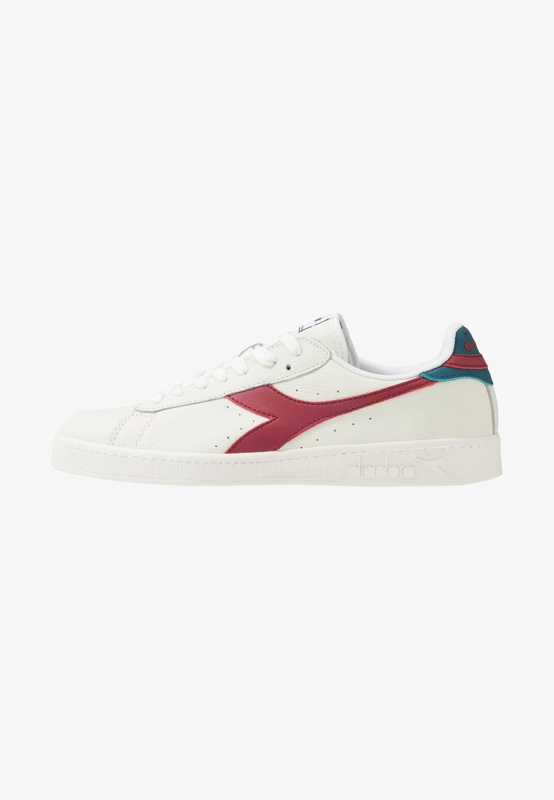 Diadora - GAME L LOW - Sneakers laag - white/brick red/ink blue