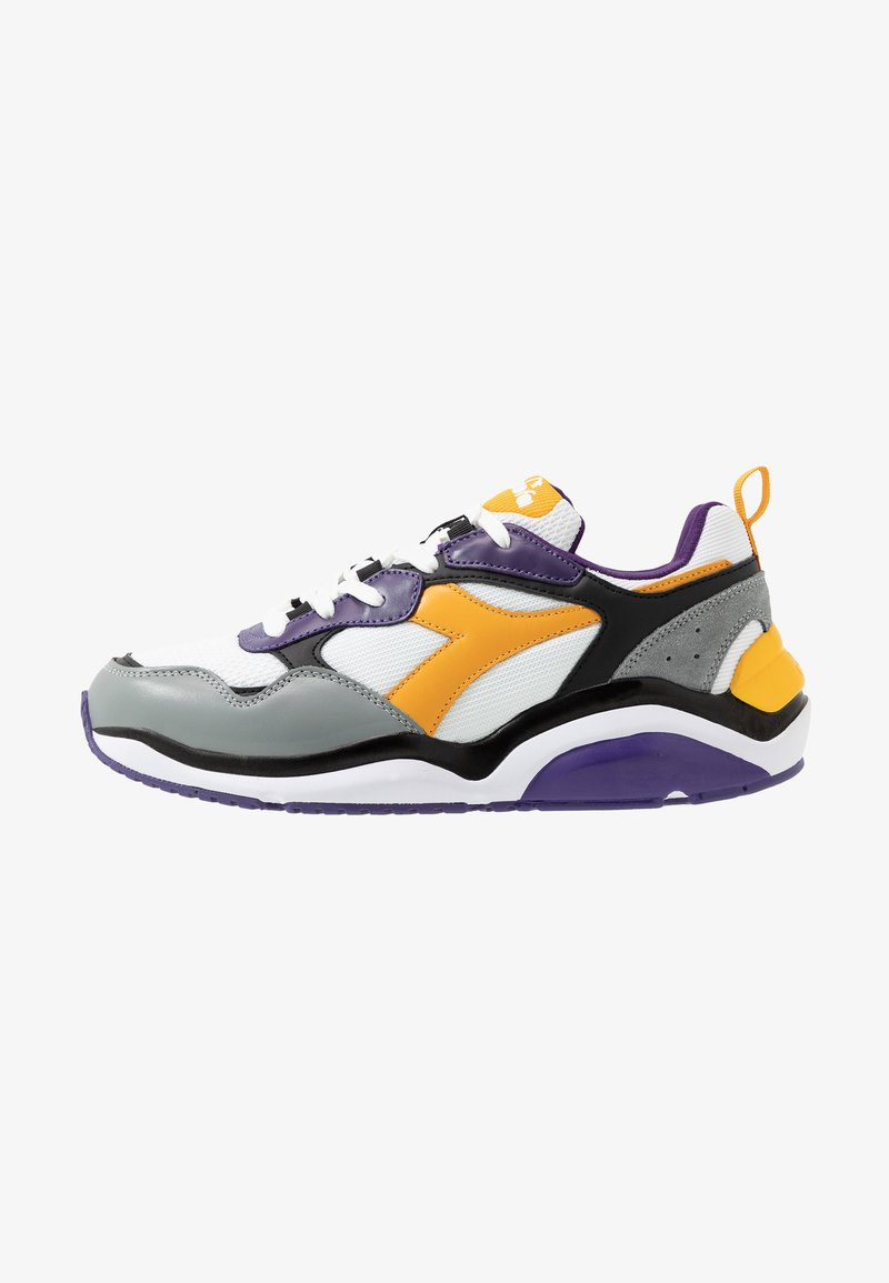 Diadora - WHIZZ RUN - Zapatillas - mulberry purple/citrus