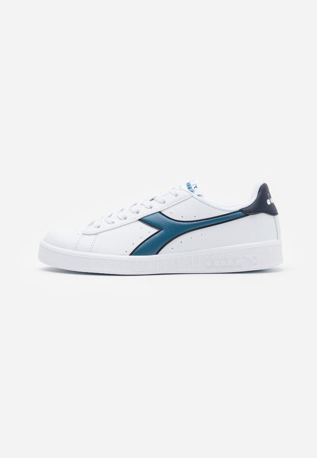 GAME - Sneakers basse - white/bluesteel/blue nights
