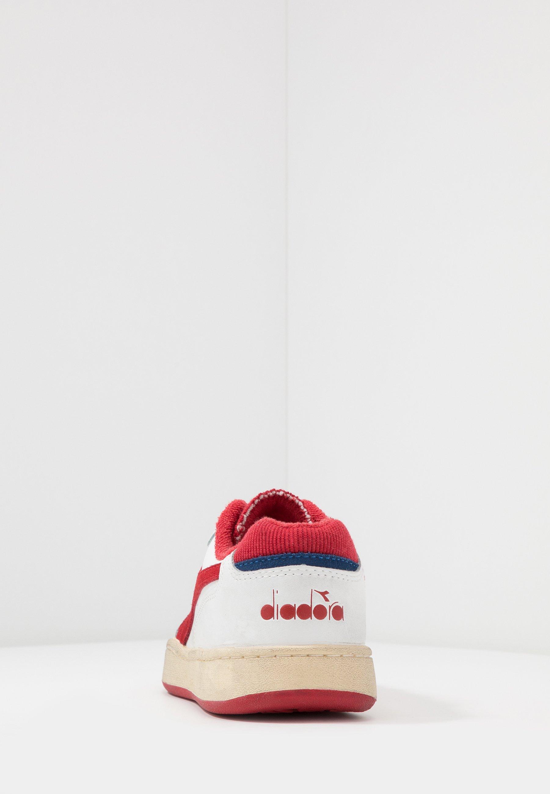 Diadora Basket Used - Sneakers Laag White/tomato Puree Goedkope Schoenen