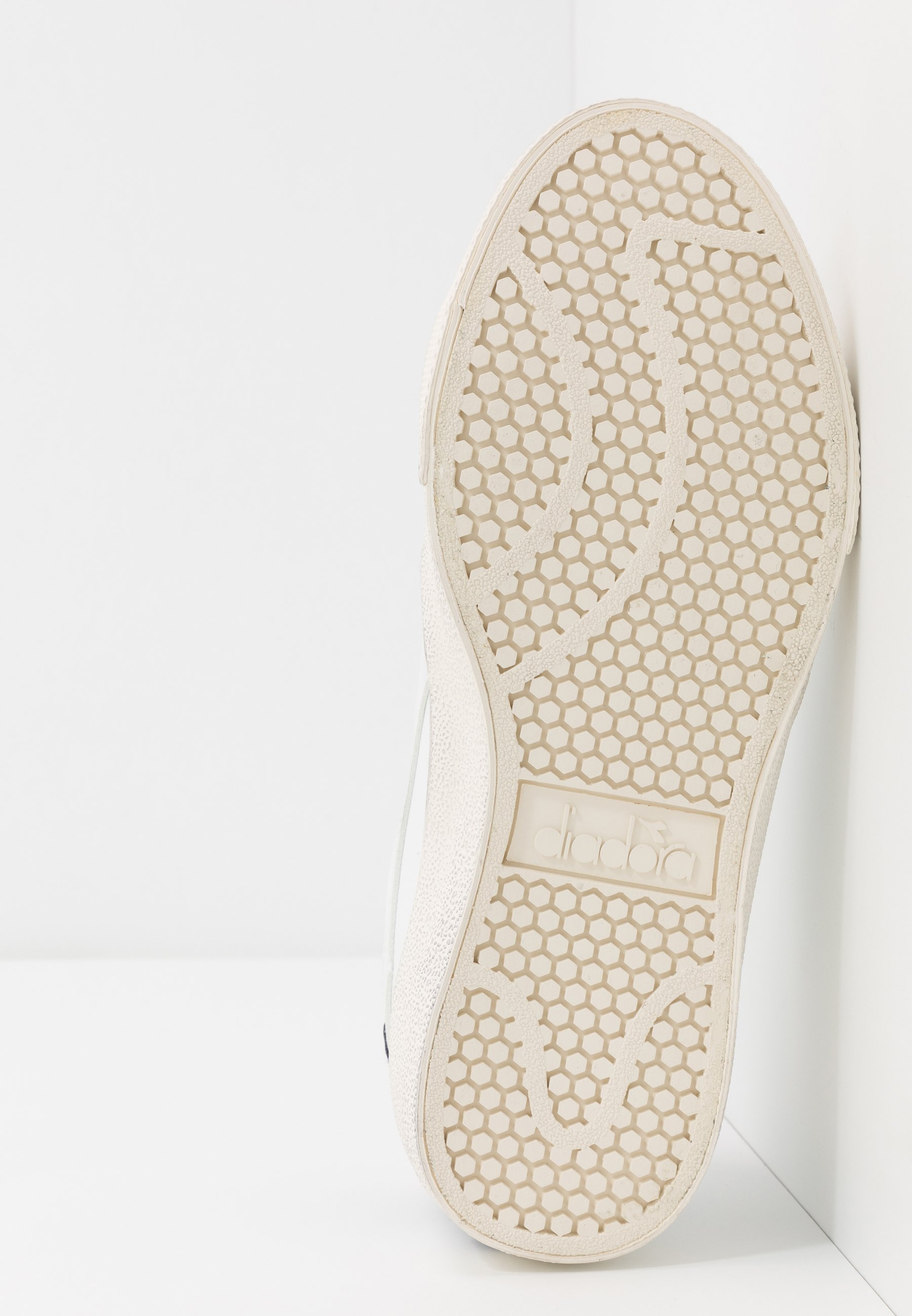 Diadora MELODY DIRTY - Sneakersy niskie - white/corsair