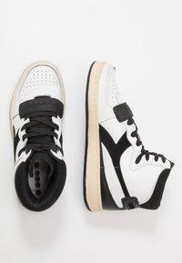 Diadora - MI BASKET USED - High-top trainers - white/black - 1