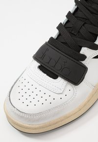 Diadora - MI BASKET USED - High-top trainers - white/black - 5