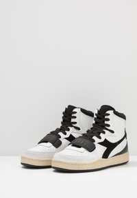 Diadora - MI BASKET USED - High-top trainers - white/black - 2