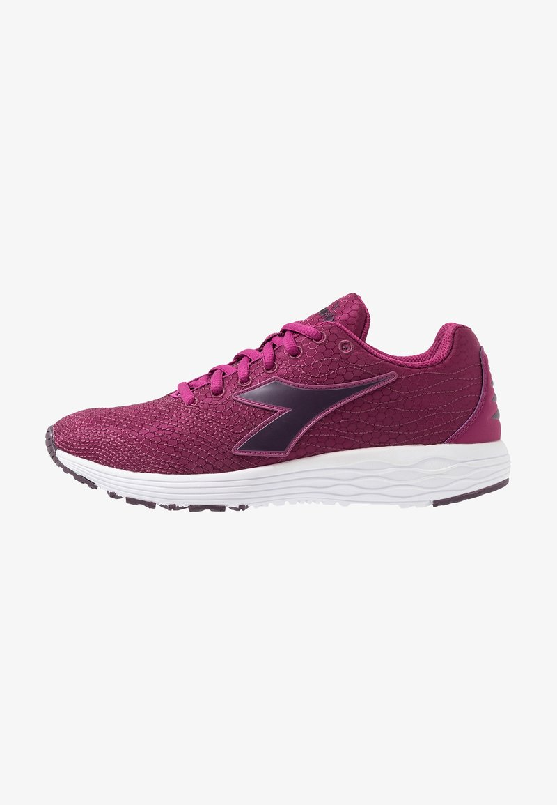 Diadora - FLAMINGO 4 WIN - Neutral running shoes - boysenberry/plum perfect