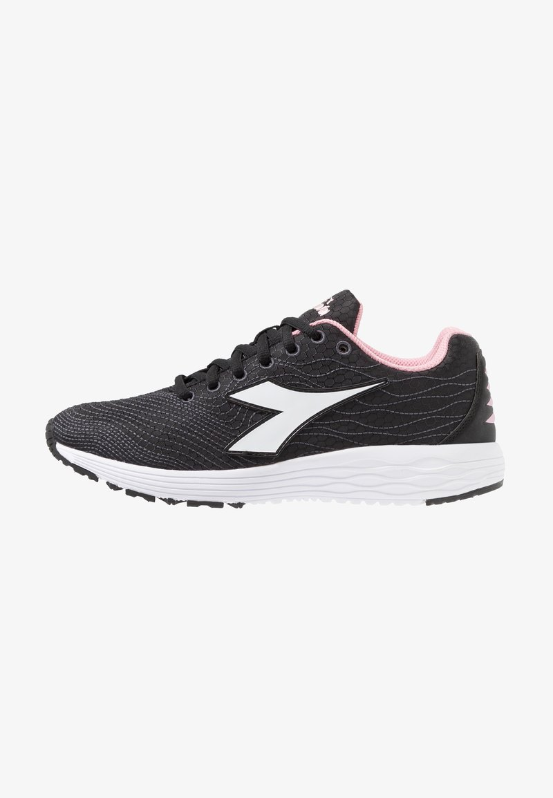 Diadora - FLAMINGO 4 WIN - Laufschuh Neutral - black/white