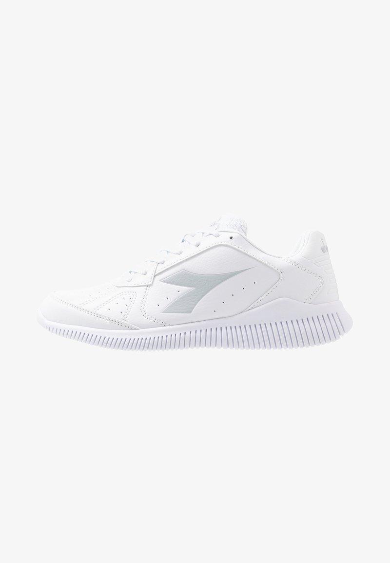 Diadora - EAGLE 2 - Neutrala löparskor - white/silver